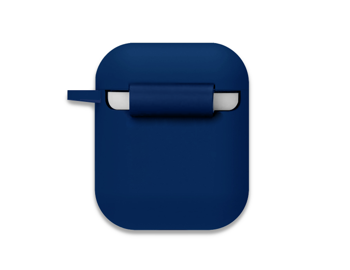 Navy Blue AirPod Case back