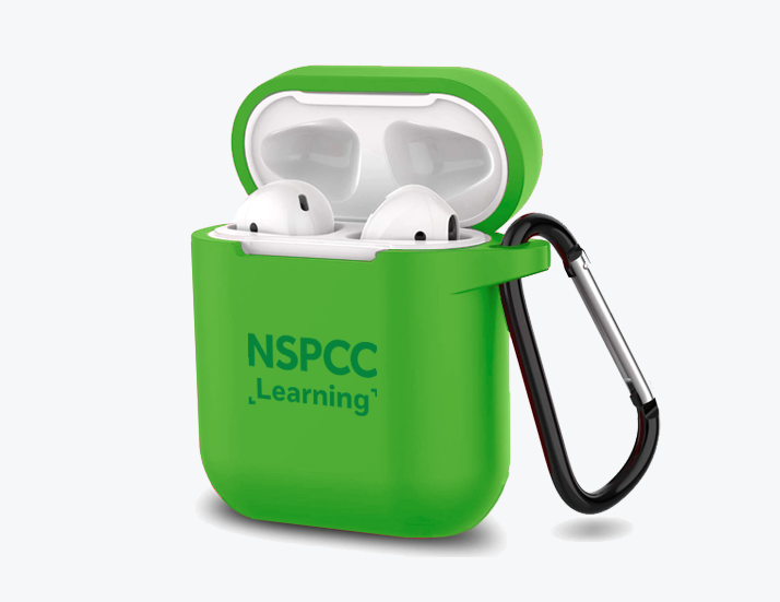 Green Silicone Airpods Skin