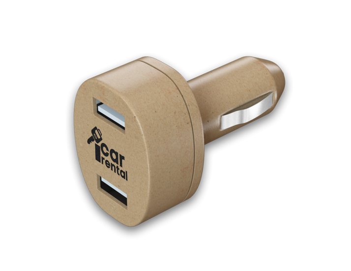 Recycled USB Car Charger