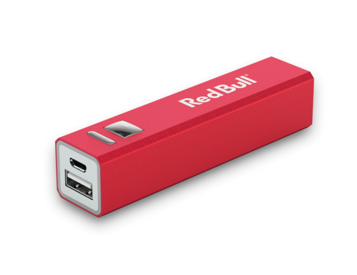 2200mAh Red Classic Power Bank