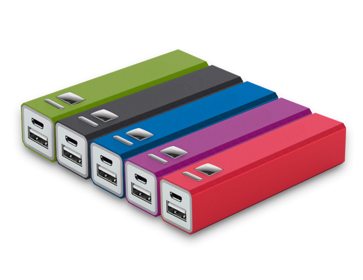 Classic Power Bank Colour Examples
