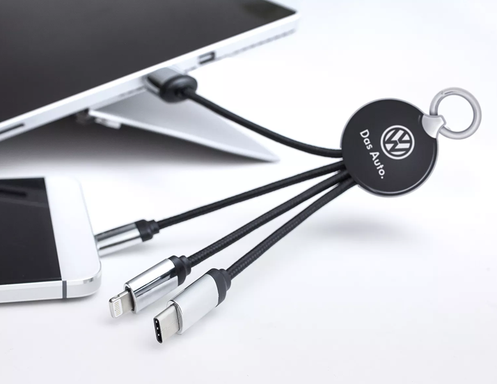 Glow Cable Charging Mobile Phone