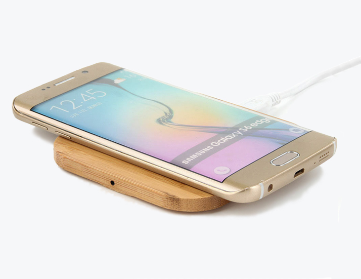Bamboo Wireless Charging Mobile Phone