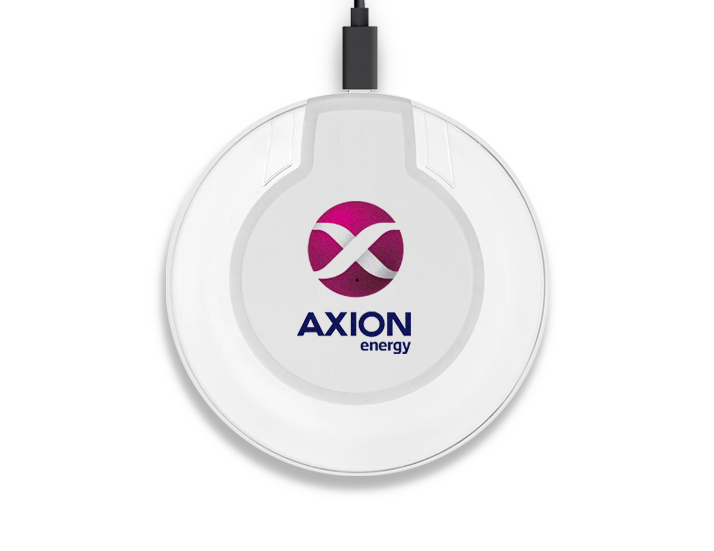 Crystal Wireless Charger with Logo