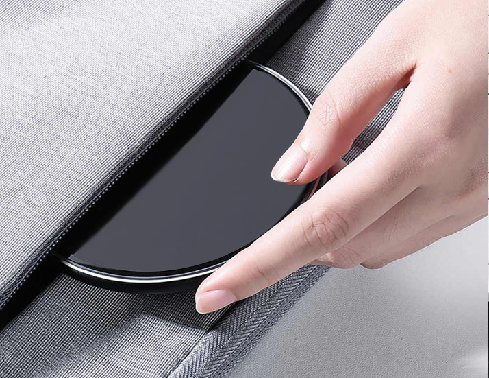 Slim Wireless Charger in Bag