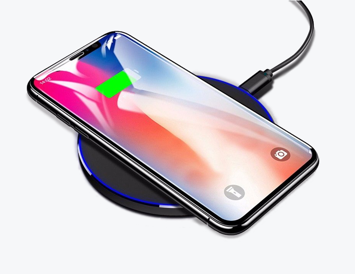 Slim Wireless Charging with Mobile on Top