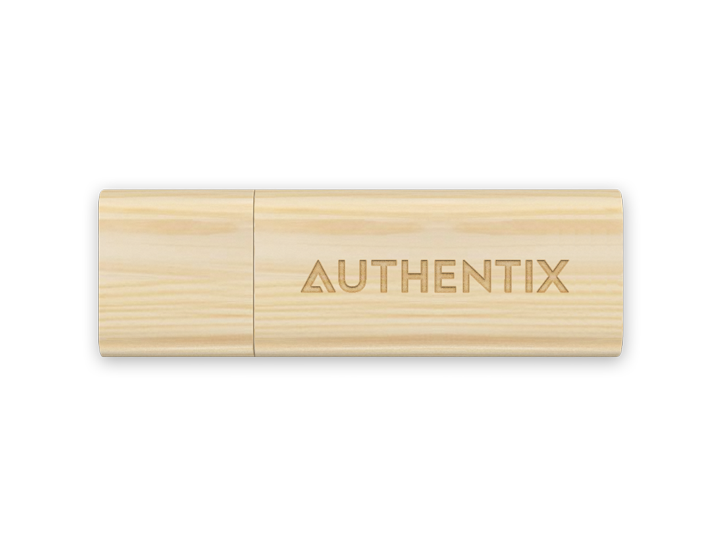 Timber USB Drive with Engraved Logo