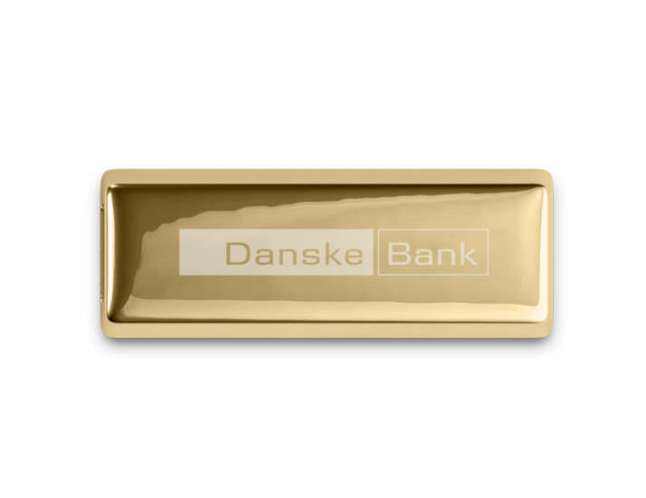 Novelty Metal USB Gold Bar