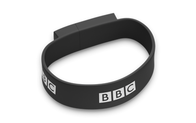 Wristband USB Drive Perspective