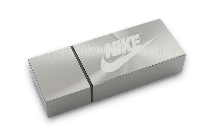 Massive Brushed Metal USB Drive