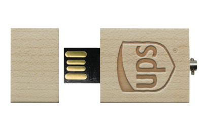Eco Wood USB Drive Front