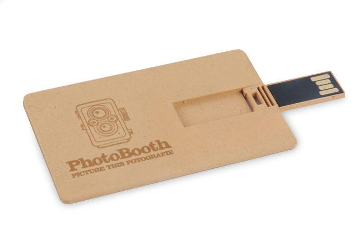 Recycled Paper USB Credit Card