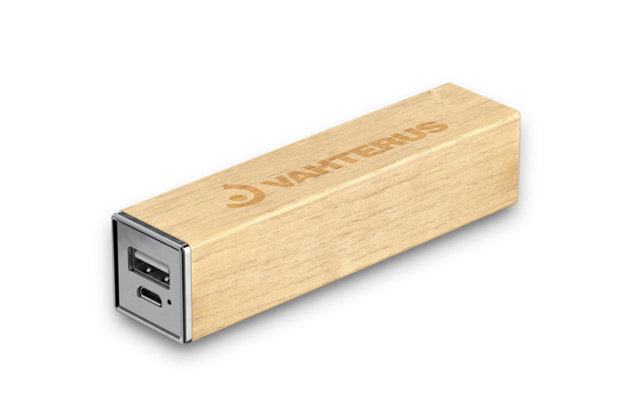 Timber Wooden Power Bank