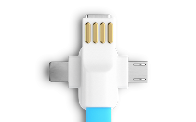 Combo USB Cable Mobile Adaptors