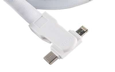 Lanyard Charging Cable Connection