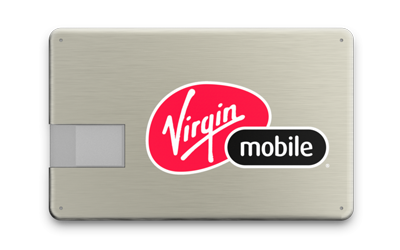 Metal USB Card Front
